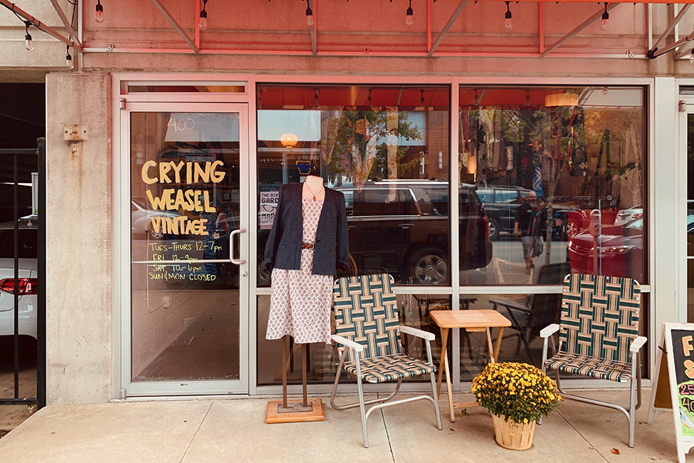 Crying Weasel Vintage storefront 400 third st 136997
