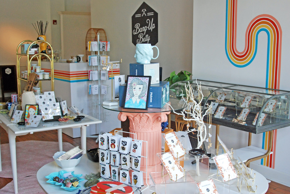 Bang-Up Betty shop in Argenta