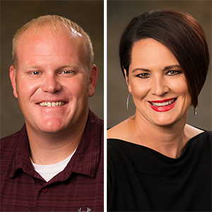 Dixon, McCoy Advance at Petit Jean State Bank (Movers & Shakers)