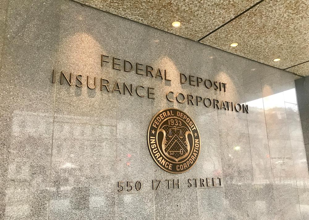TheFederal Deposit Insurance Corp. in Washington, D.C.
