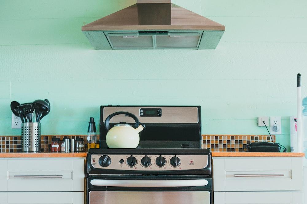 stove, kitchen, oven