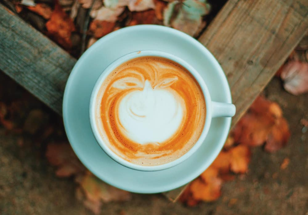 Caramel Apple Latte, fall coffee