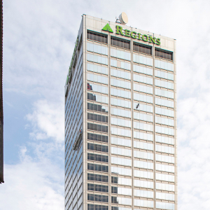 Confirmed: Regions Building Is for Sale