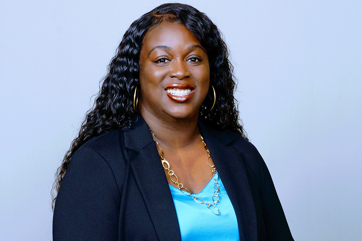 Kanika Davis of the U.S. Department of Agriculture Farm Service Agency