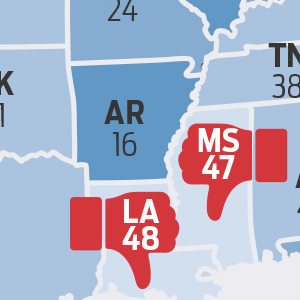How Arkansas Compares to Other States in Charitable Giving