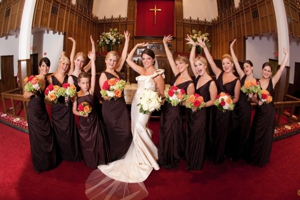 How Many Bridesmaids Should You Have? See the Numbers of Arkansas Brides Like You