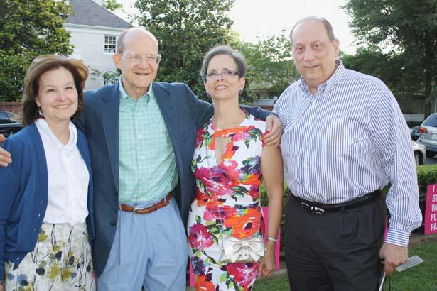 Carol Mendel, Jim and Mary Wohlleb, Allan Mendel
