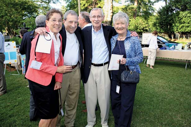 Bettina Brownstein, Jack Lavey, John and Pat Lile