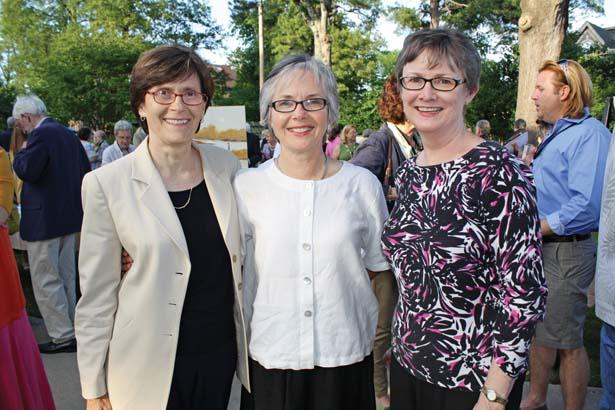 Kathy Webb, Susan Conley, Marilyn Brown