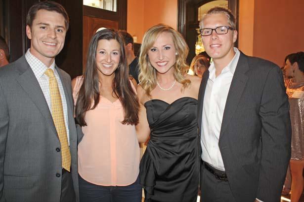 Brian and Jessica Zimmerman, Austin and Ashton Samuelson