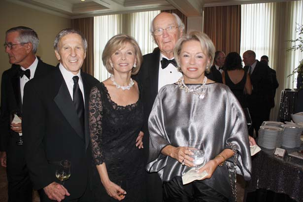 Dr. Robert and Bonnie Fincher, Dr. Porter and Carol Rodgers