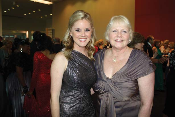 Kathryn Fiser with her mother, Dean Debra Fiser