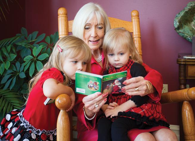 Ginger Beebe & granddaughters