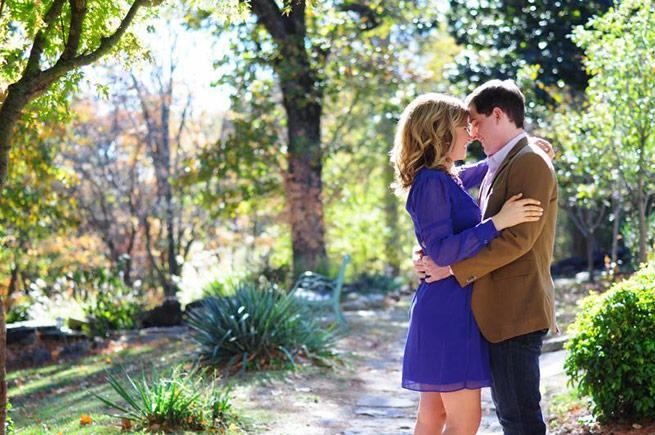 Fayetteville Arkansas Engagement: Katie Johnson of Kerrville, Texas & Steven Schmitz of Gilbert, Ariz.