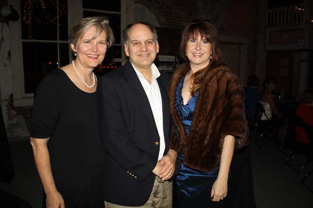 Shirley and Wayne Gray, Vivian Blair