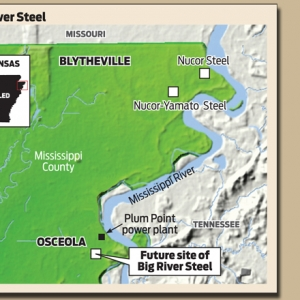 Proposed Big River Steel Mill Gives Community 'Reason to Exist'