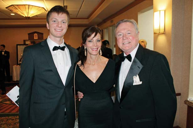 Wyatt Miller with his mother Cathy Miller, Rick Anderson