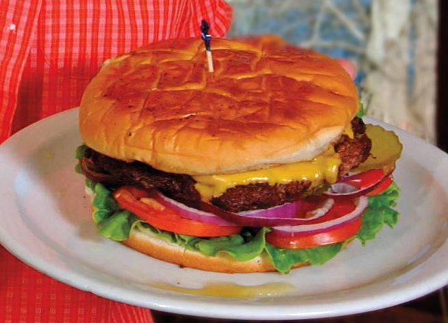 Hubcap Burger at Cotham's