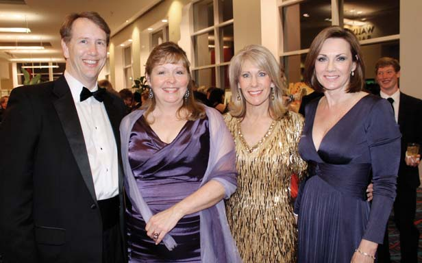 Bob and Susan Whisnant, Sherrie Klugh, Debbie Worthington