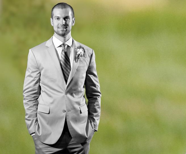 Groom tuxedo suit wedding