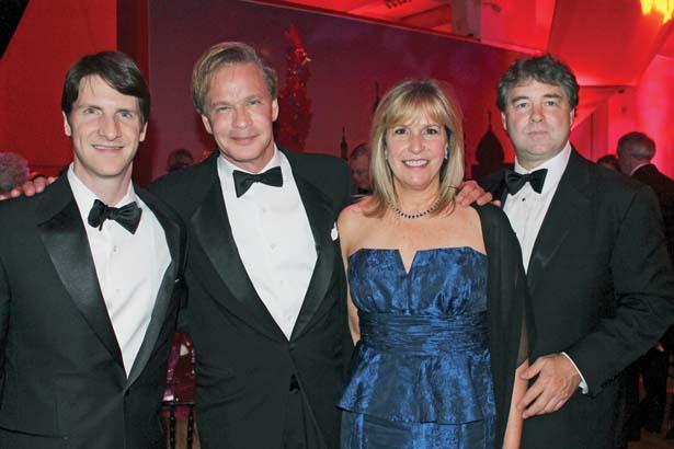 James Sumpter, P. Allen Smith, Karen and Randy Mourot