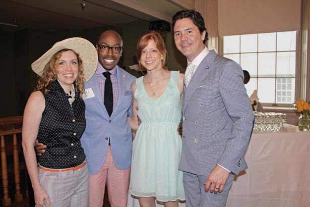 Dr. Kristen Addis, Dr. Ahmad Brown, Carla and Flynn Smith