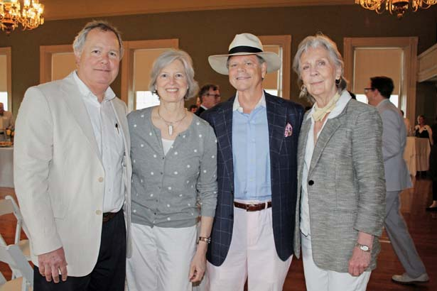 Bill and Julie Adkisson, Dudley Meadows, Sherry Bartley
