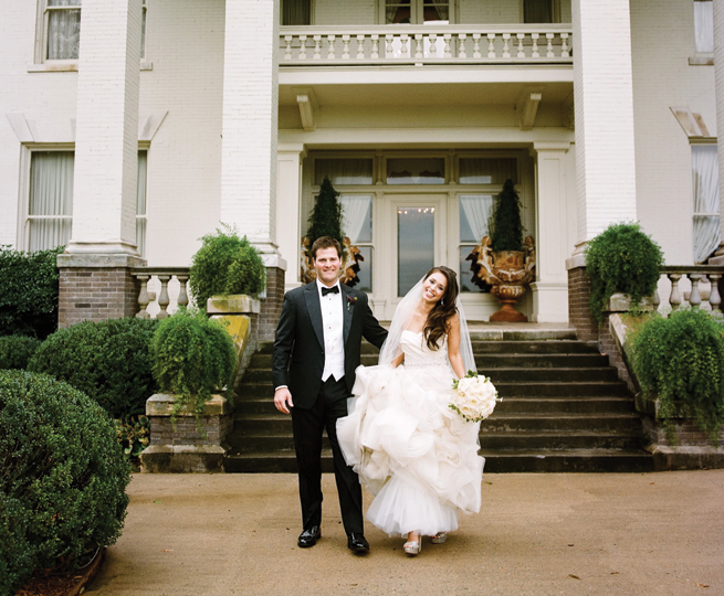Real Arkansas Wedding Elisa Cash S Glamorous Little Rock