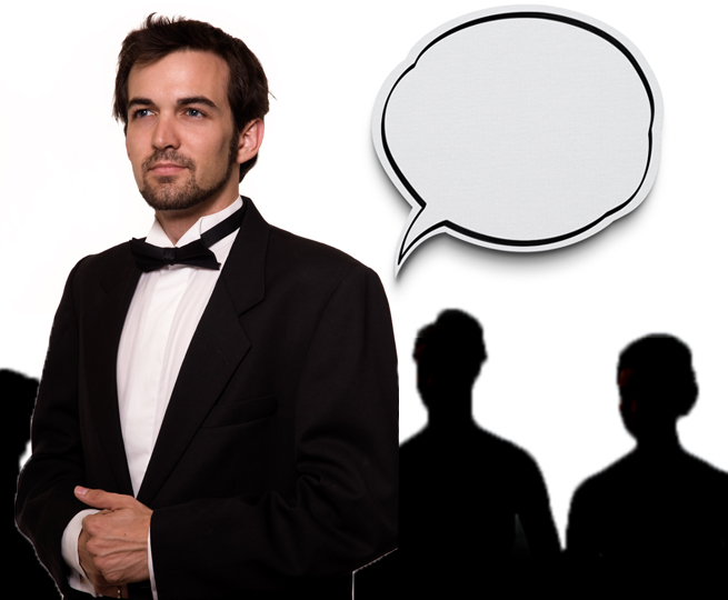 best man wedding reception toast speech balloon