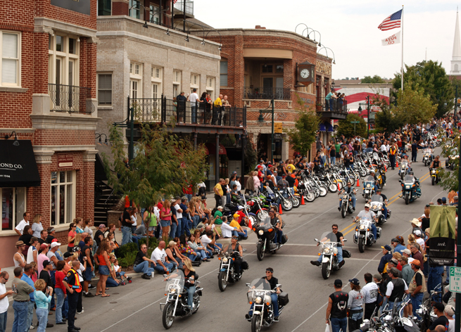 Bikes, Blues & BBQ, Fayetteville