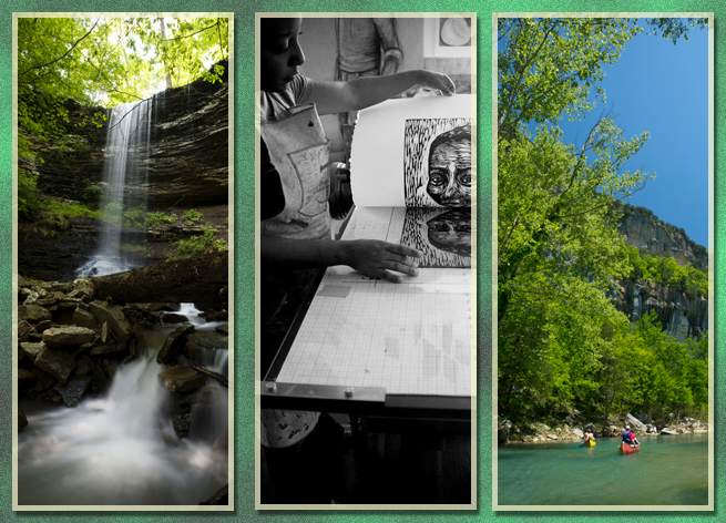 Arkansas Waterfall Arts Recreation