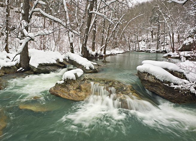 Arkansas Snow Stream