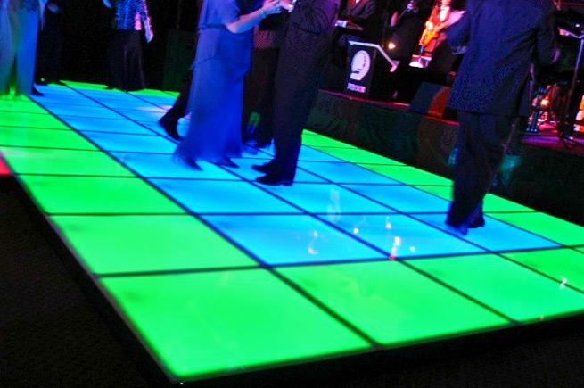 Arkansas Wedding Vendor News: 20-foot LED Dance Floor Available at Central Arkansas Entertainment