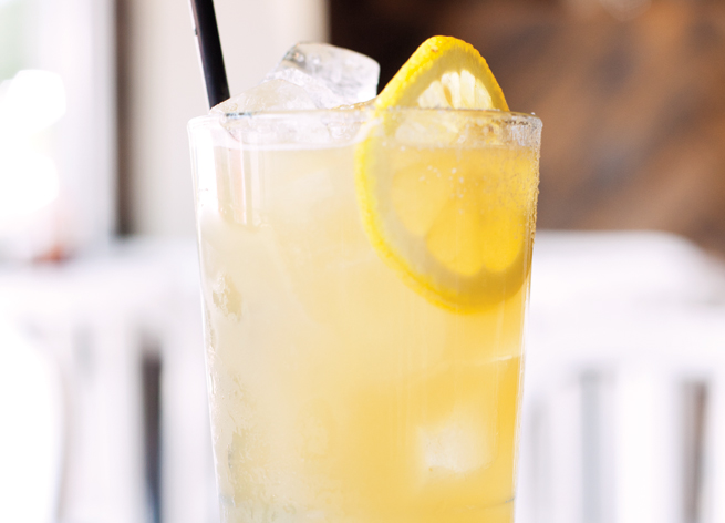 5. Pueblo Honey Swizzle • Local Lime