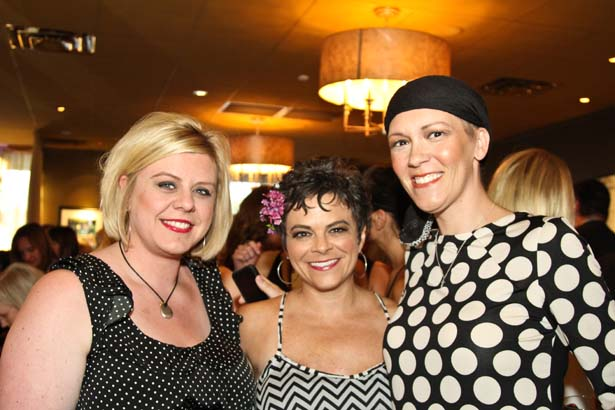 Laura Seagraves, Lisa Grummer, Corrie Bechtelheimer (both of El Dorado)