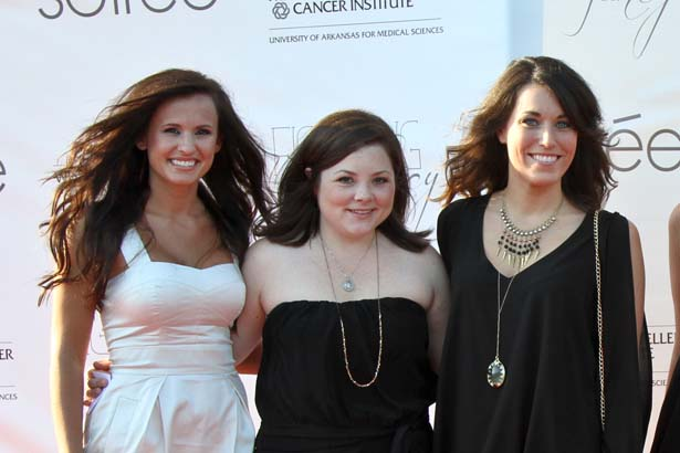 Brittany Berry, Kate Price, Sarah Barton