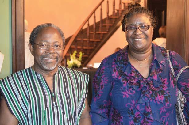 Sahr and Isatu Lebbie