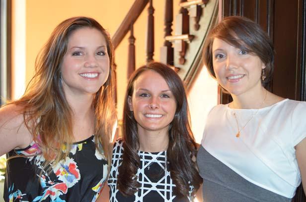 Courtney Sallings, Ashley Horton, Rachel Ferguson