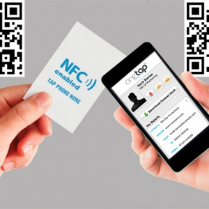 Traditional Business Cards Get High Tech Tweaks