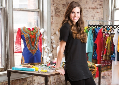 Anna Taylor Well-Suited for Feel-Good Fashion