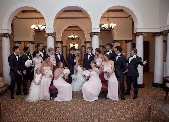 Real Wedding: Molly Waelder's Formal Nuptuals in Little Rock