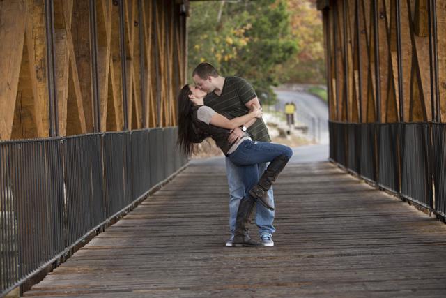 Fayetteville Engagement: Tessa Souers & Tyler Daniels