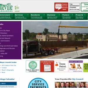 Fayetteville Uses Brainstorming, Teamwork to Overhaul City Website (Technology Advancements   Honorable Mention, 20,000+)