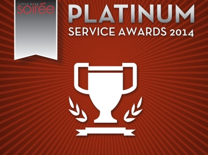 Little Rock Soirée's 2014 Platinum Service Awards