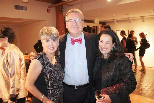 Anna Clift, David and Eva Sargent