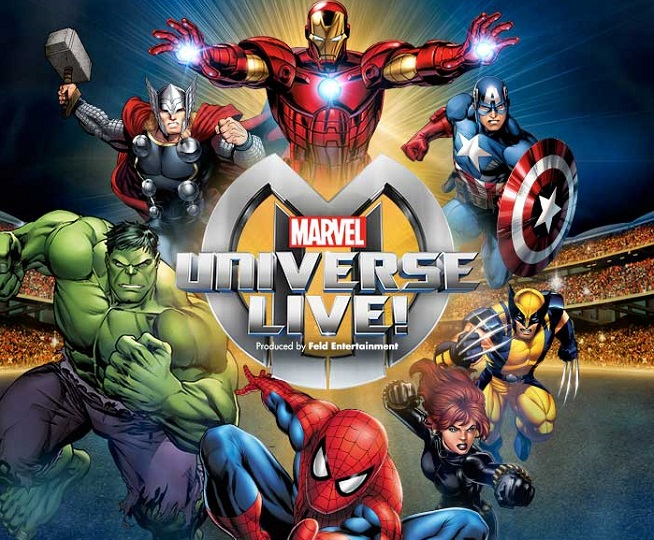 Tickets on sale for marvel universe live at verizon arena - Spiderman ironman and hulk ...