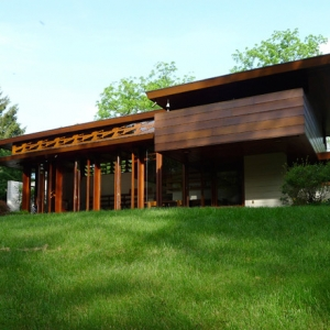 Relocation of Historic Frank Lloyd Wright House to Crystal Bridges a First