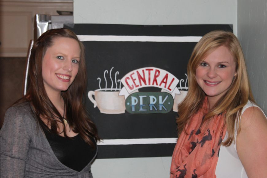 Bridal Shower of the Week: 'Friends' TV Show and Central Perk-Themed Party