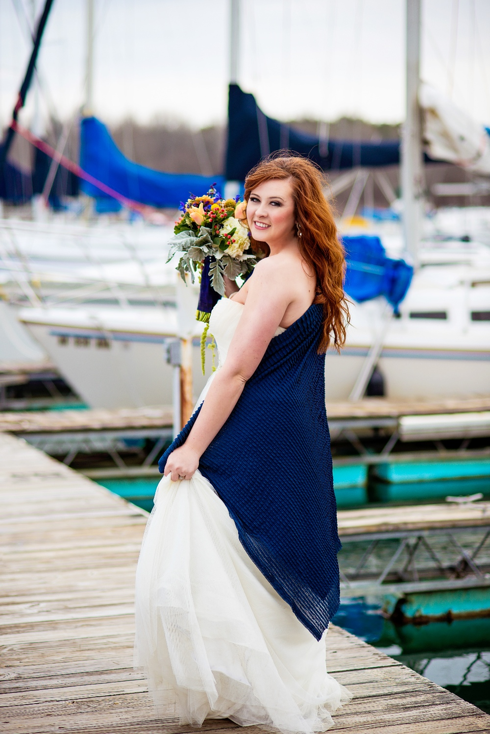 Nautical Styled Bridal Session by Zoë Weddings