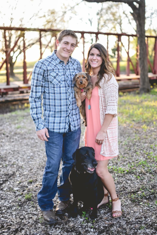 Arkansas Engagement: Katelyn Terry & Kyle Niemann of Lavaca